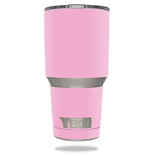 Protective Vinyl Skin Decal for YETI 30 oz Rambler Tumbler wrap cover sticker skins Glossy Pink DECAL ONLY