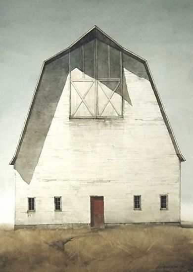 """Stand Alone by Joseph Alleman Watercolor ~ 30"""" x 22"""""""