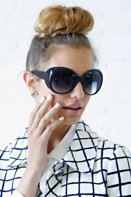 The Hottest Spring/Summer 2014 Hair Trends - Chunky Top Knots
