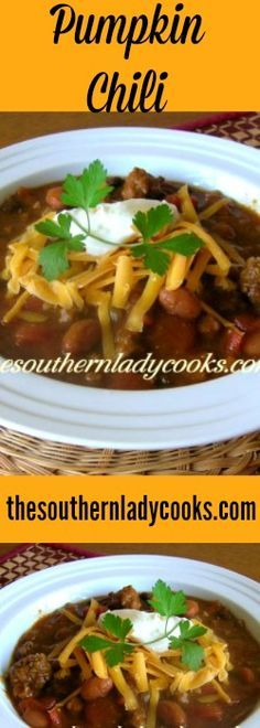 This Yummy Pumpkin Chili is one of the best chili recipes I have ever made. You are going to be so pleasantly surprised at the delicious, robust taste. This recipe is wonderful for any kind of fa…
