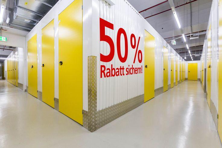 Lagerraum mieten Möbel einlagern Selfstorage LAGERBOX 50% Rabatt sichern http://www.lagerbox.com