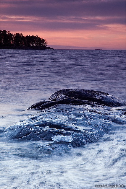 Dawn, Uutela, Helsinki, Finland.  Photo: Rob Orthen via Flickr.
