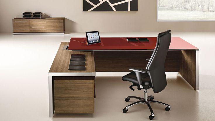 1000+ images about desk on Pinterest   Modern desk, Office desks and