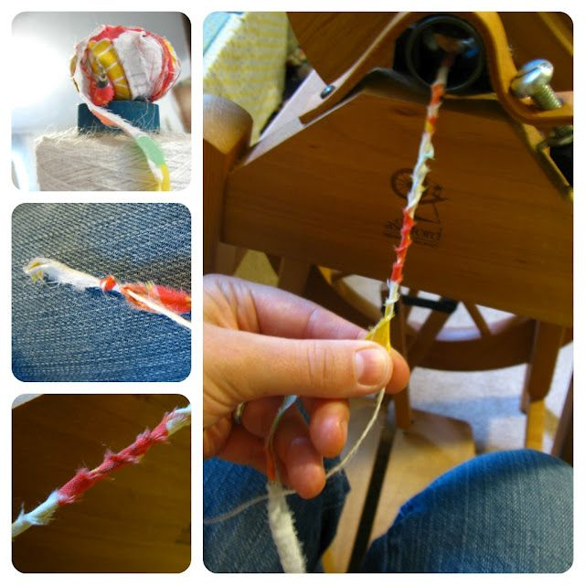 how to spin yarn from fabric