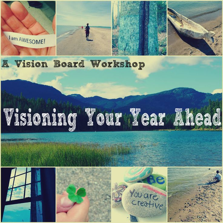 Visioning Your Year Ahead January 11th, 2015. Get ready for 2015, setting intentions and making a visual plan! #Toronto