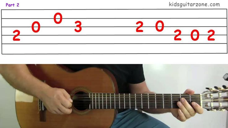 Guitar lesson 5E : The Pink Panther Theme