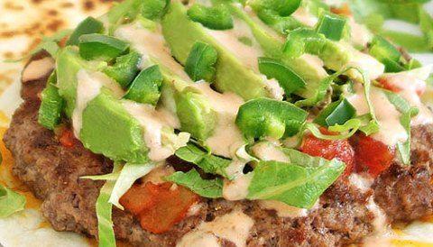 Quesadilla Burger - Delicious Burger in a Cheesy Quesadilla