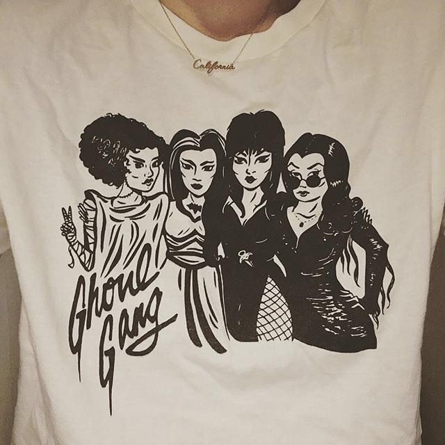 Brunch with the girls. (Ivory Ghoul Gang Short Sleeve Tee)