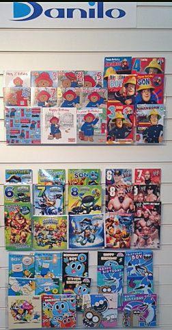 New Paddington Bear, Fireman Sam, Skylanders, WWE and Adventure Time Card Ranges