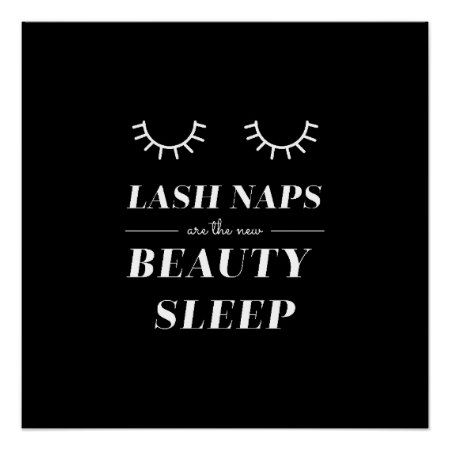 Cute Quote Funny Lash Nap Posters - tap, personalize, buy right now!
