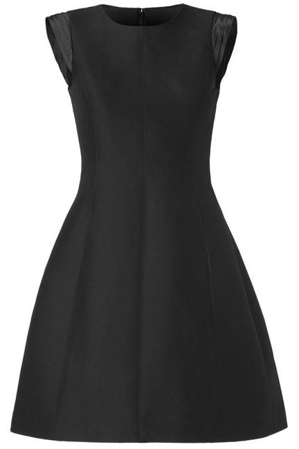Every woman needs a go-to Little Black Dress (Halston Heritage)