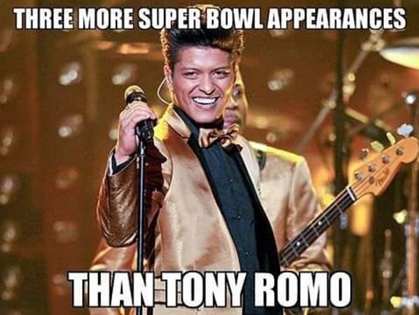 Sorry Tony, but he's got a point #NFL #superbowl50 #fantasyfootball #cowboys #panthers #broncos #football #nfl #halftime