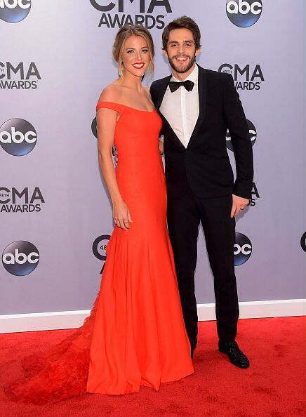 Thomas Rhett & wife, Lauren, honestly one of the most naturally beautiful women I have ever seen!