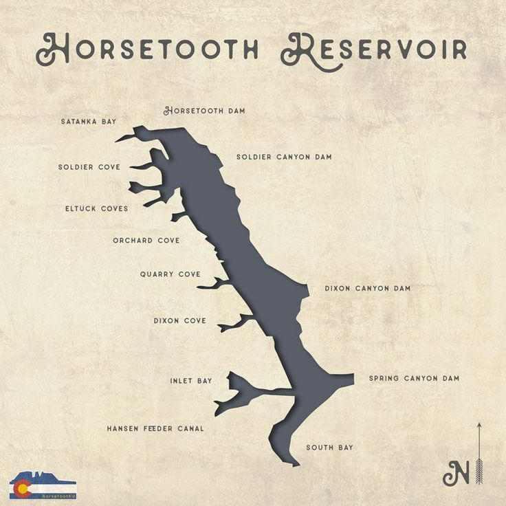 Horsetooth Reservoir Map Fort Collins | A Complete Guide to Horsetooth Reservoir