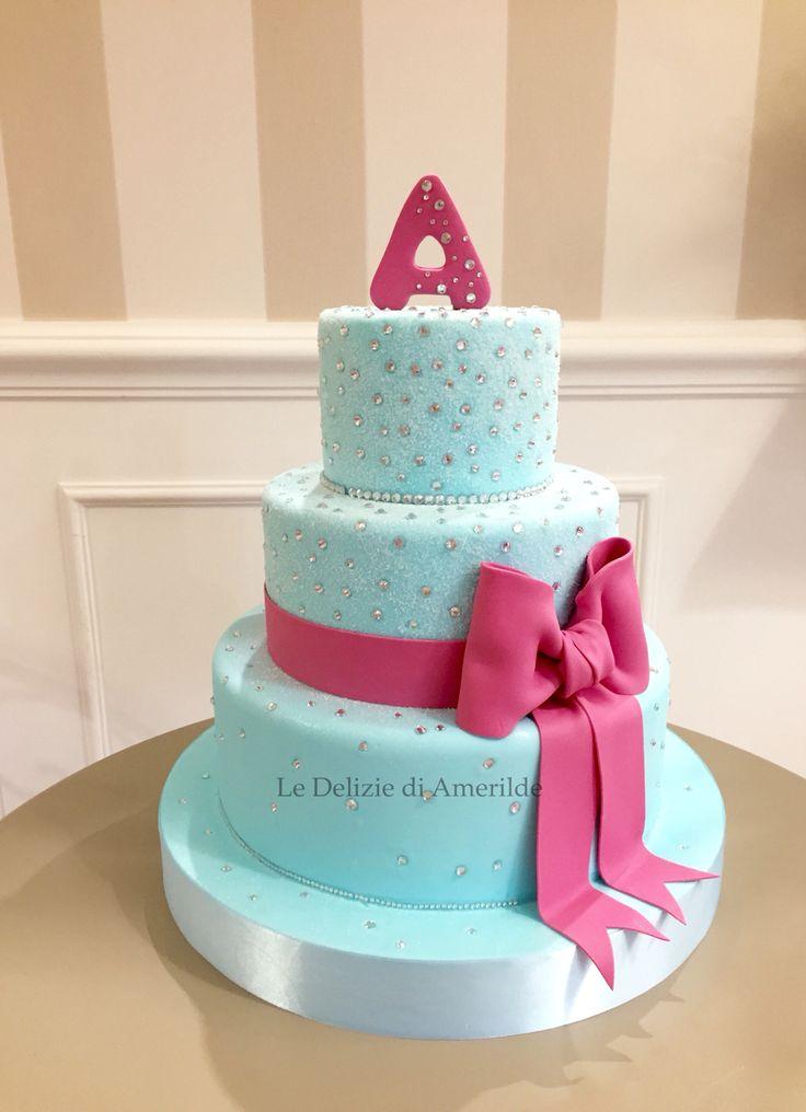 Le Delizie di Amerilde.  Tiffany cake. www.ledeliziediamerilde.it