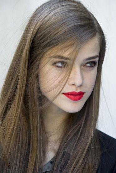 Sleek & Sophisticated  Red lips......the perfect accent!
