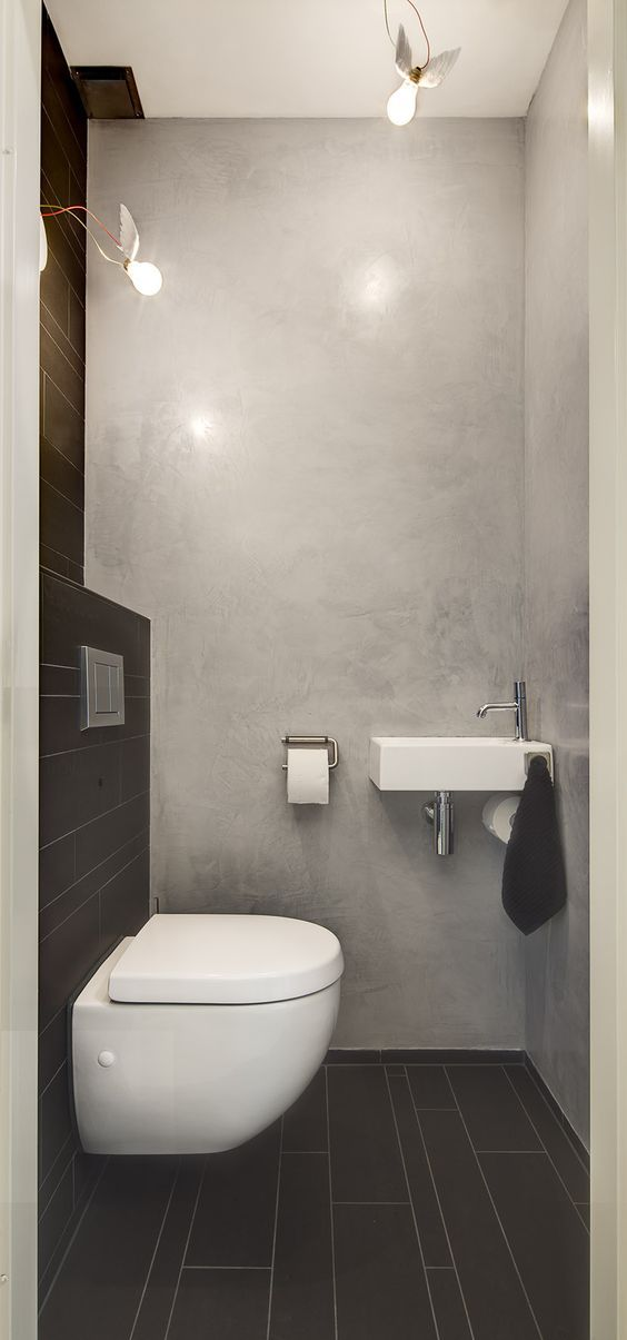 13 best images about betonstuc badkamers on pinterest see more ideas about toilets we and blog - Beton wax badkamer ...