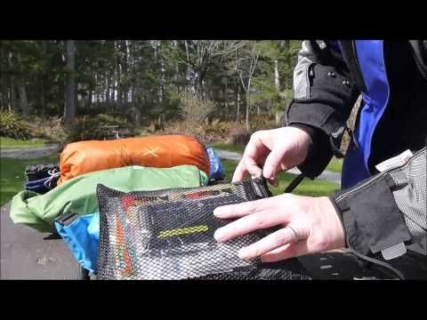 Check out this video about Saddlebags we just blogged at http://motorcycles.classiccruiser.com/saddlebags/packing-for-motorcycle-camping-bmw-f650gs/