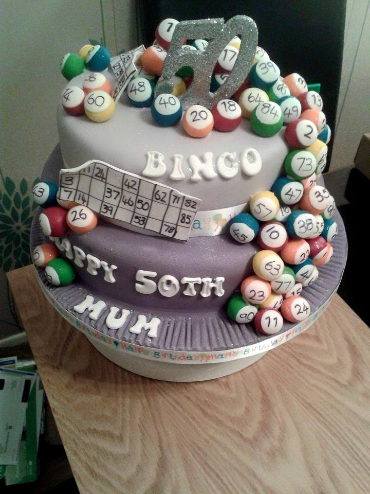 20 best Bingo Themed Cakes images on Pinterest Bingo cake Bingo