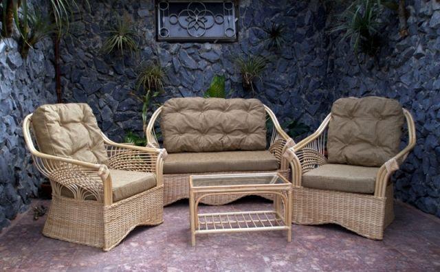 17 images about muebles de mimbre on pinterest white for Sofas mimbre exterior