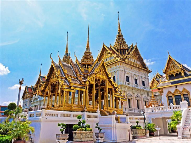 Grande Palácio Real, Bangkok, Tailândia