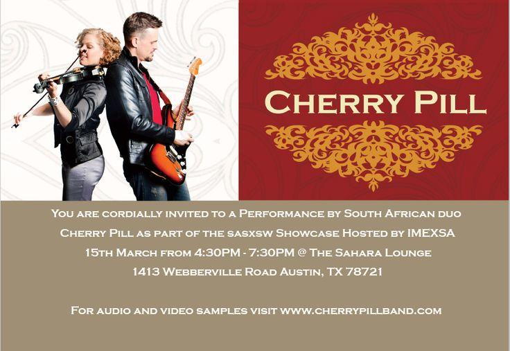 Cherry Pill | Official website of Cherry Pill | Blog : Cherry Pill at SXSW
