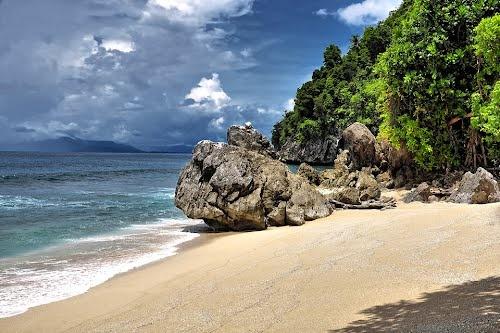 Base G Beach, Jayapura - Papua, Indonesia