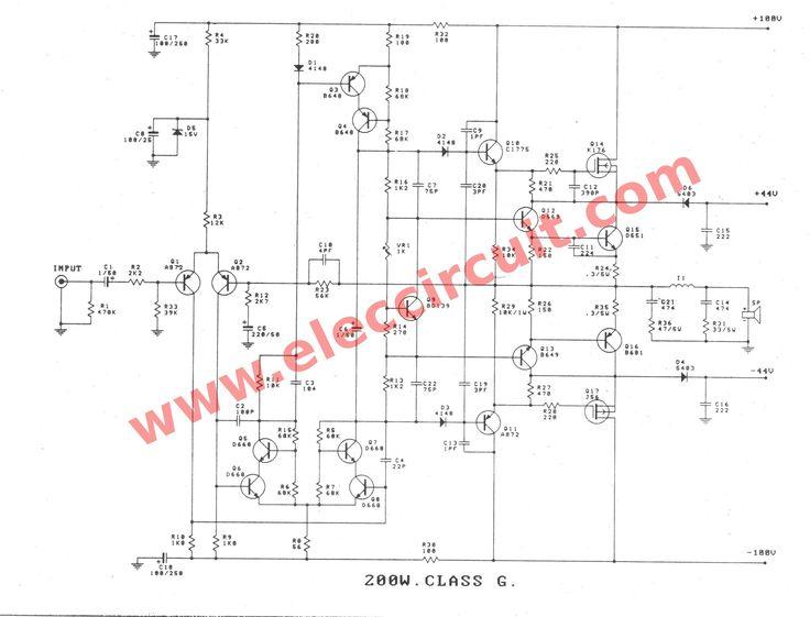 car active crossover circuit schematic
