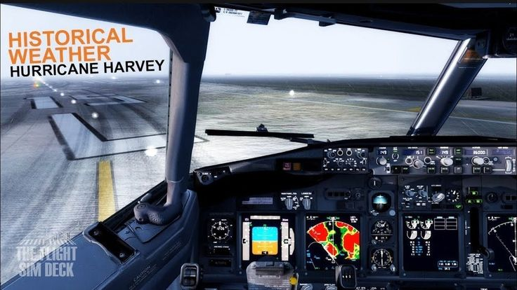 On todays edition of Historical Weather we attempt a departure and arrival at George Bush Intercontinental - Houston Airport during hurricane Harvey.