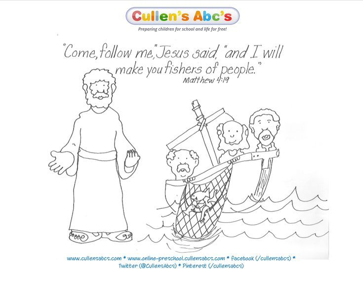 Jesus Chooses His Disciples Coloring Pages Bible Crafts Childrens Church Lessons Jesus Coloring Pages