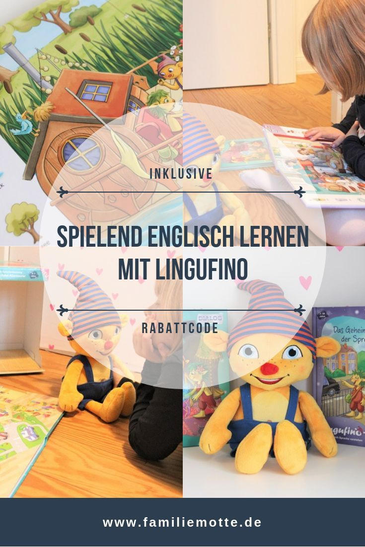Spielend Englisch Lernen Mit Lingufino Englisch Lernen Kinderbucher Und Lernen