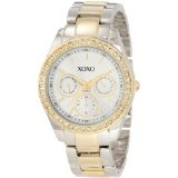 XOXO Women's XO5429  Rhinestone Accent Two-Tone Bracelet Watch (Watch)By XOXO