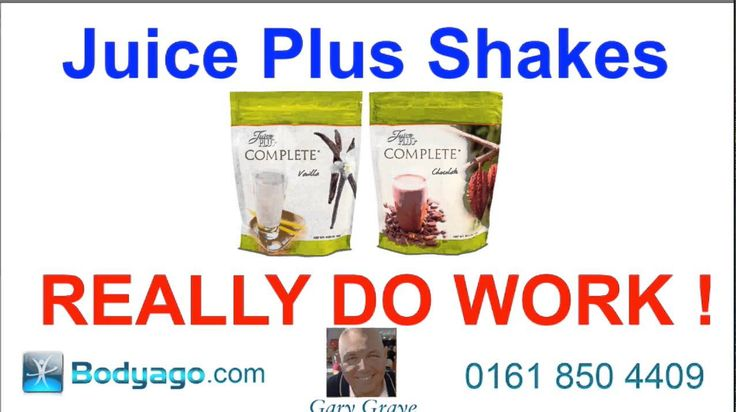 Juice Plus Shakes Reviews Complete Diet Plan - Not  If you want to lose fat then these are the shakes that you need