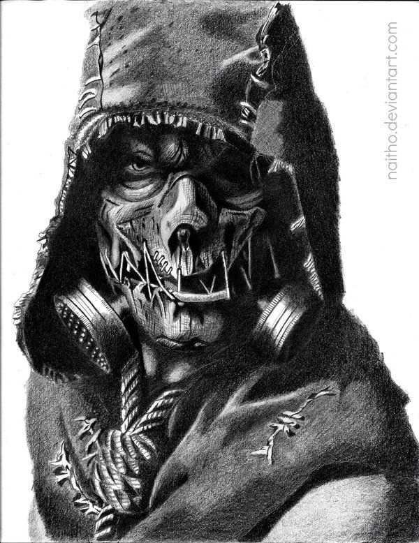 Scarecrow - Arkham Knight by Naitho on DeviantArt
