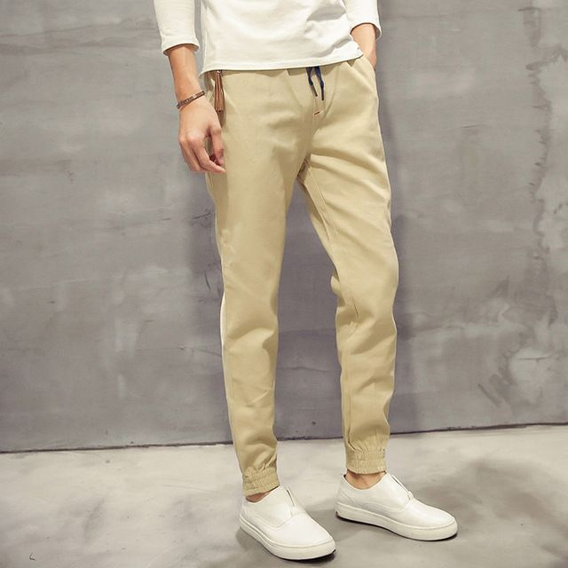 カーキスウェットパンツスラックスジョガー新しい綿カジュアルpantalonesやつ品質ミッドウエストのパンツ男性ファッションメンズジョギング長いズボン5XL-M 5色