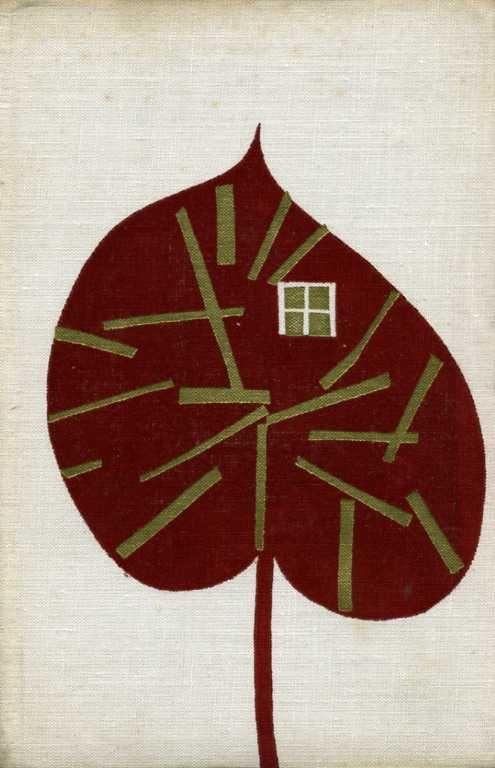 1965, binding illustration for Tajní boháči by Jozef Gregor-Tajovský, via 50 watts