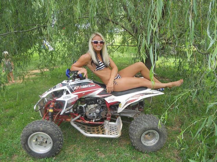Your Naked women with atv something also