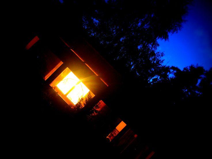 Cottage #cottage #night #czechrepublic