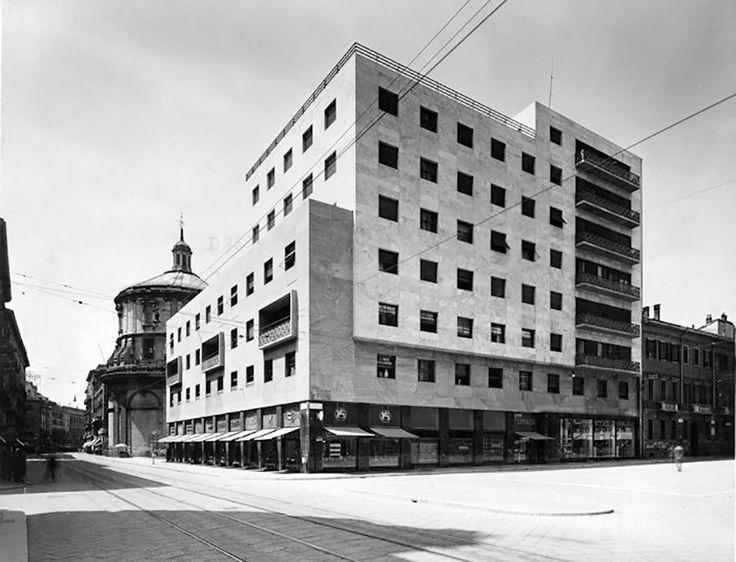 piero portaluppi - edificio per abitazioni e uffici, via torino, milano, 1935-38