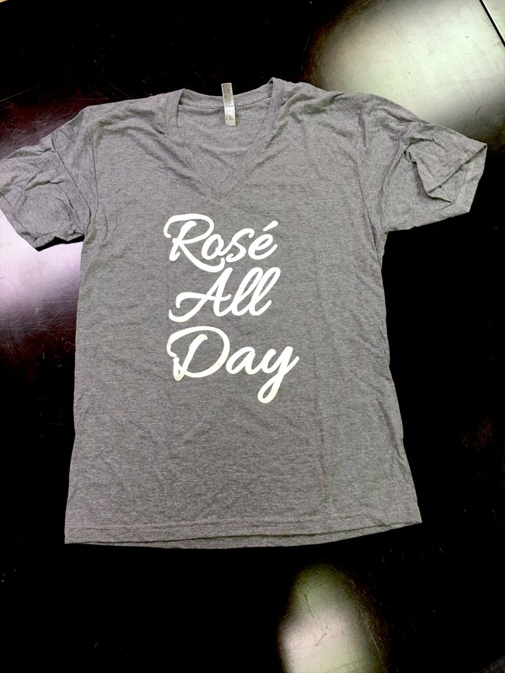 """Rosé All Day"" shirt, Supporting Destin Charity Wine Auction Foundation"