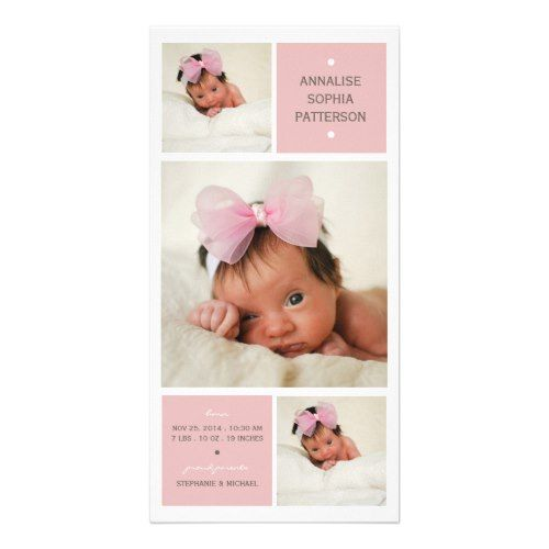 122 best Baby Girl Announcement images – Baby Girl Announcements Pinterest