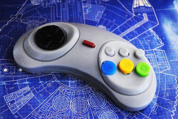 Sega Genesis, controller soap, funny soap, nerdy soap | Nerdy Soap, Geeky Soap, Gift Idea, Novel Soap