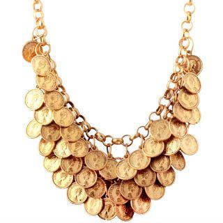 Colar Coins Ouro Velho