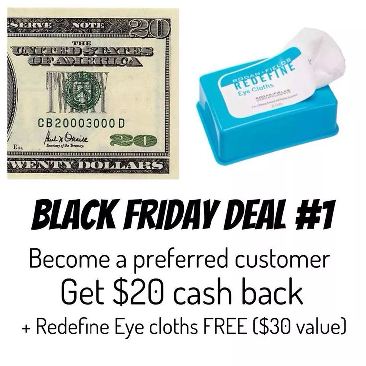 One of my Black Friday shopping deals: Two other offers available. Check out my Facebook Page (https://www.facebook.com/reneerandfconsultant) or order online at:  https://reneesiemiet.myrandf.com/Pages/OurProducts/PCProgram