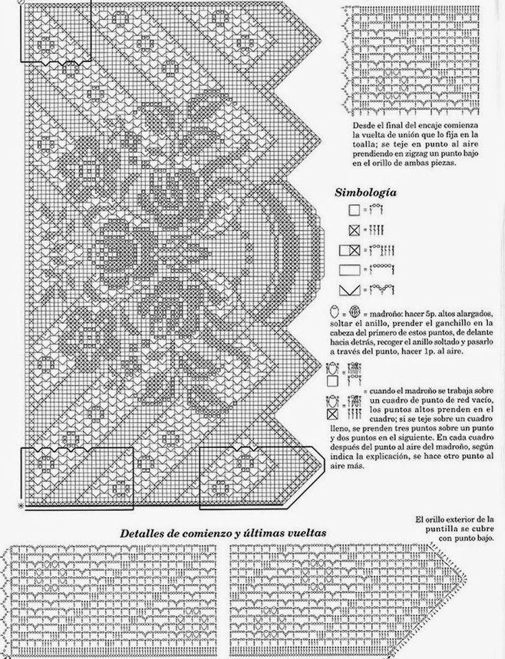 Kira scheme crochet: Scheme crochet no. 22 | danteller | Pinterest ...