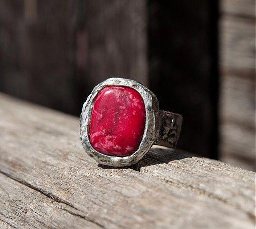 Malinový sorbet by gabi111 - SAShE.sk - Handmade Prstene