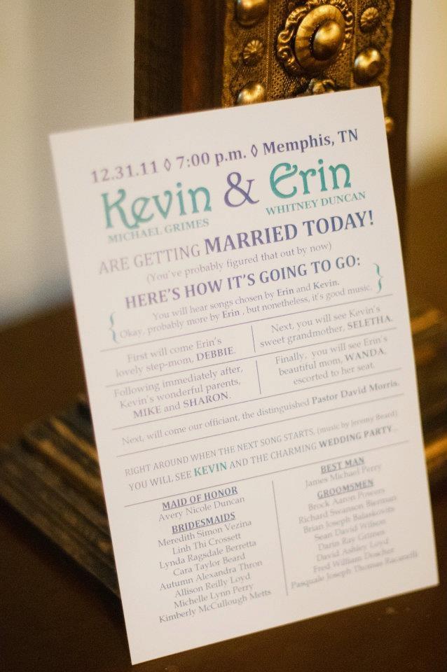 8 best Wedding Programs images on Pinterest