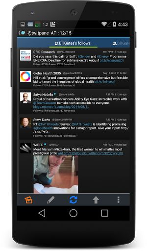 TwitPanePlus for Twitter v9.6.1 [Paid]   TwitPanePlus for Twitter v9.6.1 [Paid] Requirements:4.1 and up Overview:TwitPane is a light weight and powerful Twitter app  TwitPane is a light weight and powerful Twitter app  More useful and customizable app than official app.  - Supports Twitter Emoji(emoticon) - Supports HTTP/2.0 & SPDY(10% faster than the other app to communicate. HTTP/2.0 and SPDY is supported in android 4.1 or later) - Customizable tabs - Customizable design - Multiple twitter…
