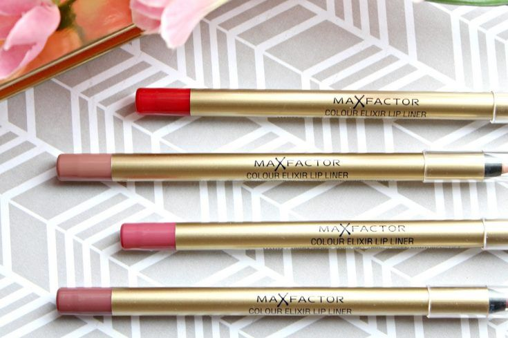 Max Factor Colour Elixir Lip Liners