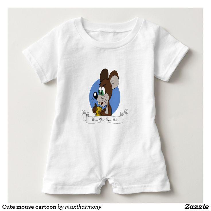 Cute mouse cartoon shirt